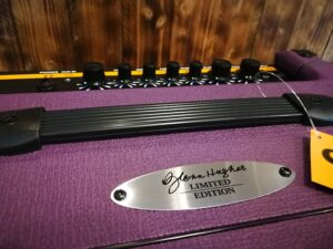 Orange Crush Bass 50, Glenn Hughes Signature, Limited Purple Edition