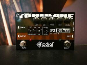 Radial Tonebone PZDeluxe, Acoustic Instrument PreAmp, B-Stock