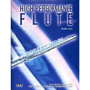 High performance flute, Grades 3-4-5 + CD