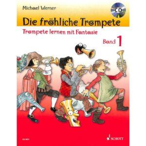 Die fröhliche Trompete 1 + CD