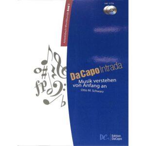 Da capo intrada 1 | Arbeitsbuch Musikkunde