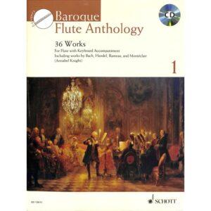 Baroque Flute Anthology 1 + CD