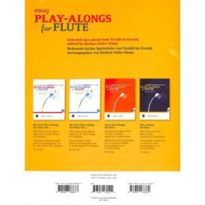 Easy play alongs for flute + CD