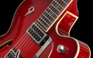 Duesenberg Imperial Red E-Guitar + Hardcase, 2017