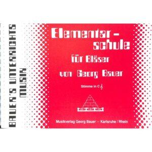 Elementarschule für Bläser - Stimmen in C
