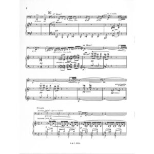 Sonate d-moll Claude Debussy