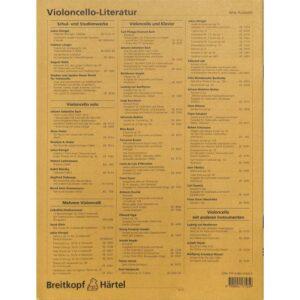 Praktischer Lehrgang für das Violoncello-Spiel Heft 3