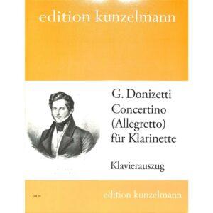 Concertino für Klarinette, G. Donizetti