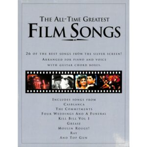 The all time greatest film songs
