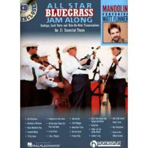 All star bluegrass jam along + CD