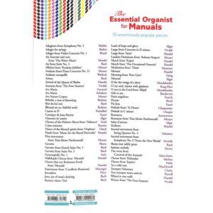 Essential organist for manuals