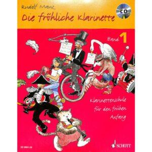Die fröhliche Klarinette 1 + CD