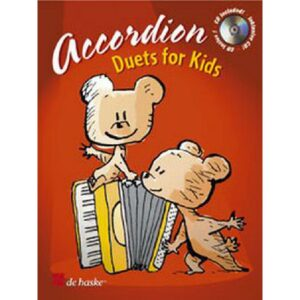 Accordion Duets for kids + CD