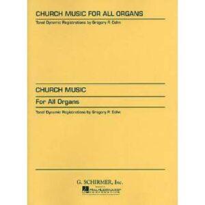 Church music for all organs