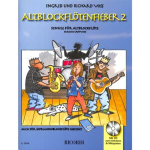 Altblockflötenfieber 2 + CD