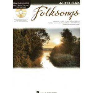 Folksongs für Alt-Sax + CD