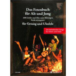 Das Fetenbuch für Alt und Jung, Gesang & Ukulele