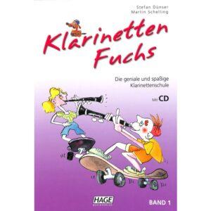 Klarinetten Fuchs 1 + CD