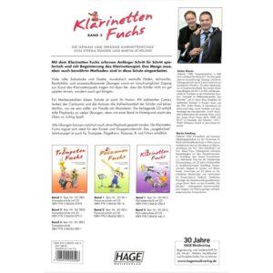 Klarinetten Fuchs 2 + CD