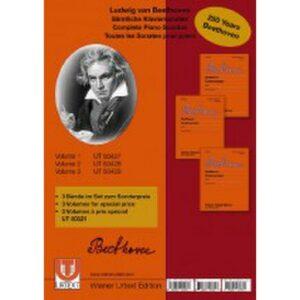 Beethoven, Sämtliche Klaviersonaten 1-3