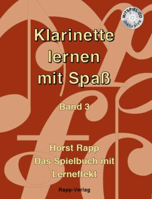 Klarinette lernen mit Spaß 3 + CD